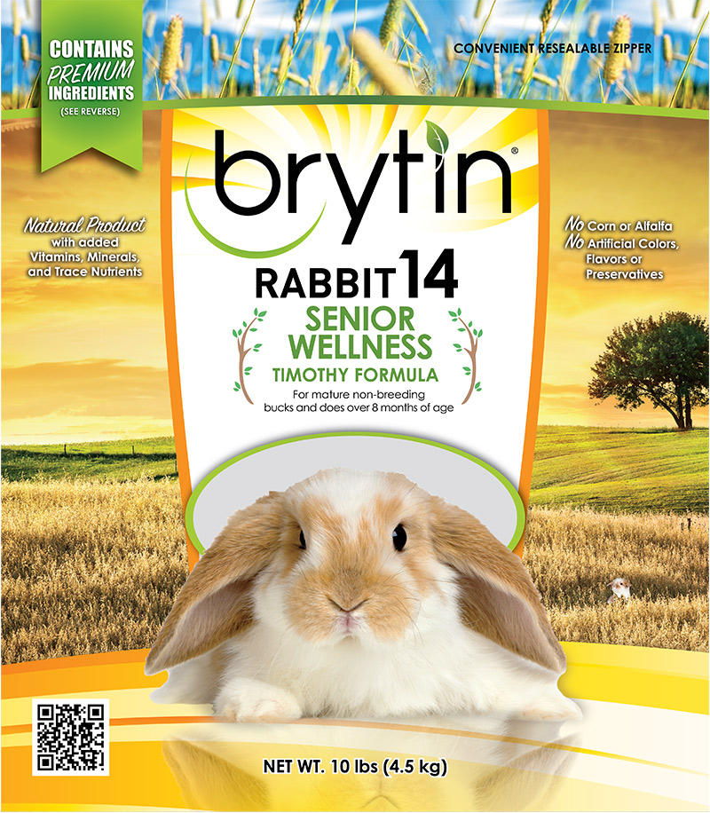 Brytin® Rabbit 14 – Senior Wellness Timothy Formula